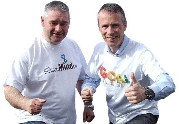 Andrew Dobbin, The Business Mindset & Gerry Duffy, Motivational Speaker join forces to talk about the business of achieving  goals