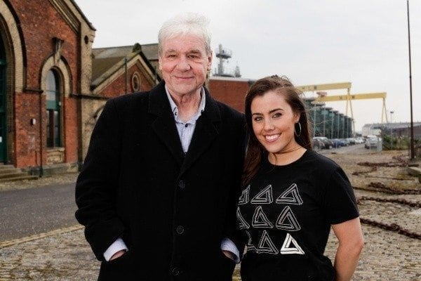 Iconic figure of the local music scene and founder of the infamous Good Vibrations record shop, Terri Hooley with Friday Night Mashup organiser Katie McQuillan. Terri will be speaking at the Friday Night Mashup on June 13. US tech supremos Jon Vanhala and Matthew Gonzales, and Andy McCartney from Microsoft ventures in London will also address the event. Friday Night Mashup aims to connect, engage and inspire tech talent by acting as a launch pad for local companies seeking to make an impact in export markets in the US and Europe. Anyone interested in attending should log on to http://www.fridaynightmashup.com/ and check out Mashup TV on Youtube for further details.