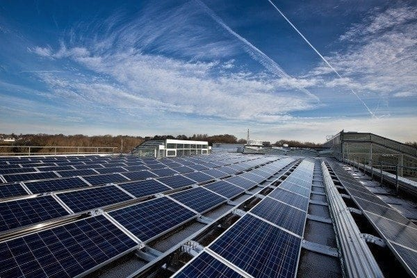 free commercial solar panels for business the bottom line