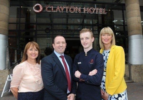 Redden to lead Clayton Hotel in Belfast · BUSINESSFIRST