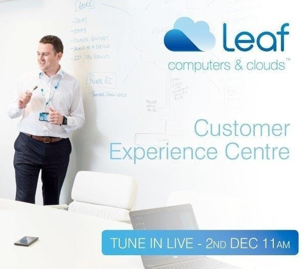 Leaf Customer Experience Centre live launch