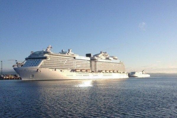 cruise liners belfast
