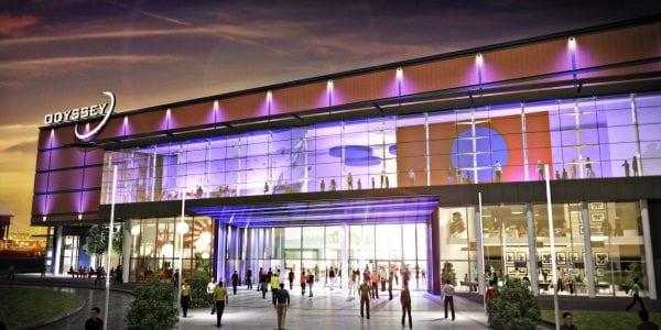 Belfast's Odyssey Pavilion