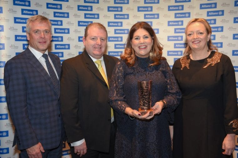 Allianz Arts & Business NI Awards 2018 - Business of the Year Winner - George Best Belfast City Airport