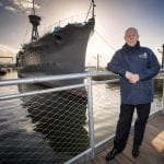 Final phase of HMS Caroline dock and built environment gets set to open in March
