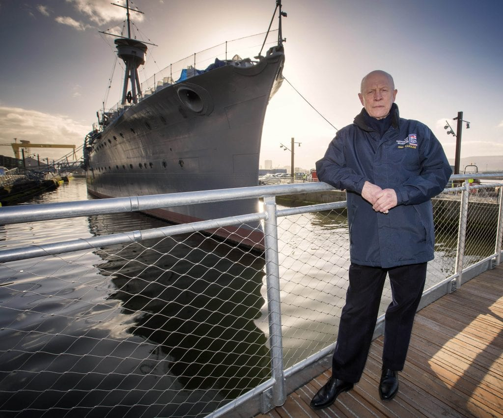 1. Captain John Rees OBE, the National Museum of the Royal Navy