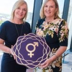 Which Northern Ireland businesses have been recognised for commitment to Gender Diversity?