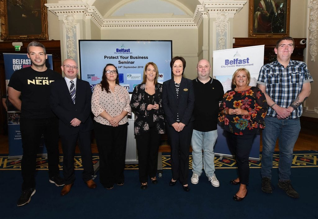 Protect Your Business Seminar, Belfast City Hall.