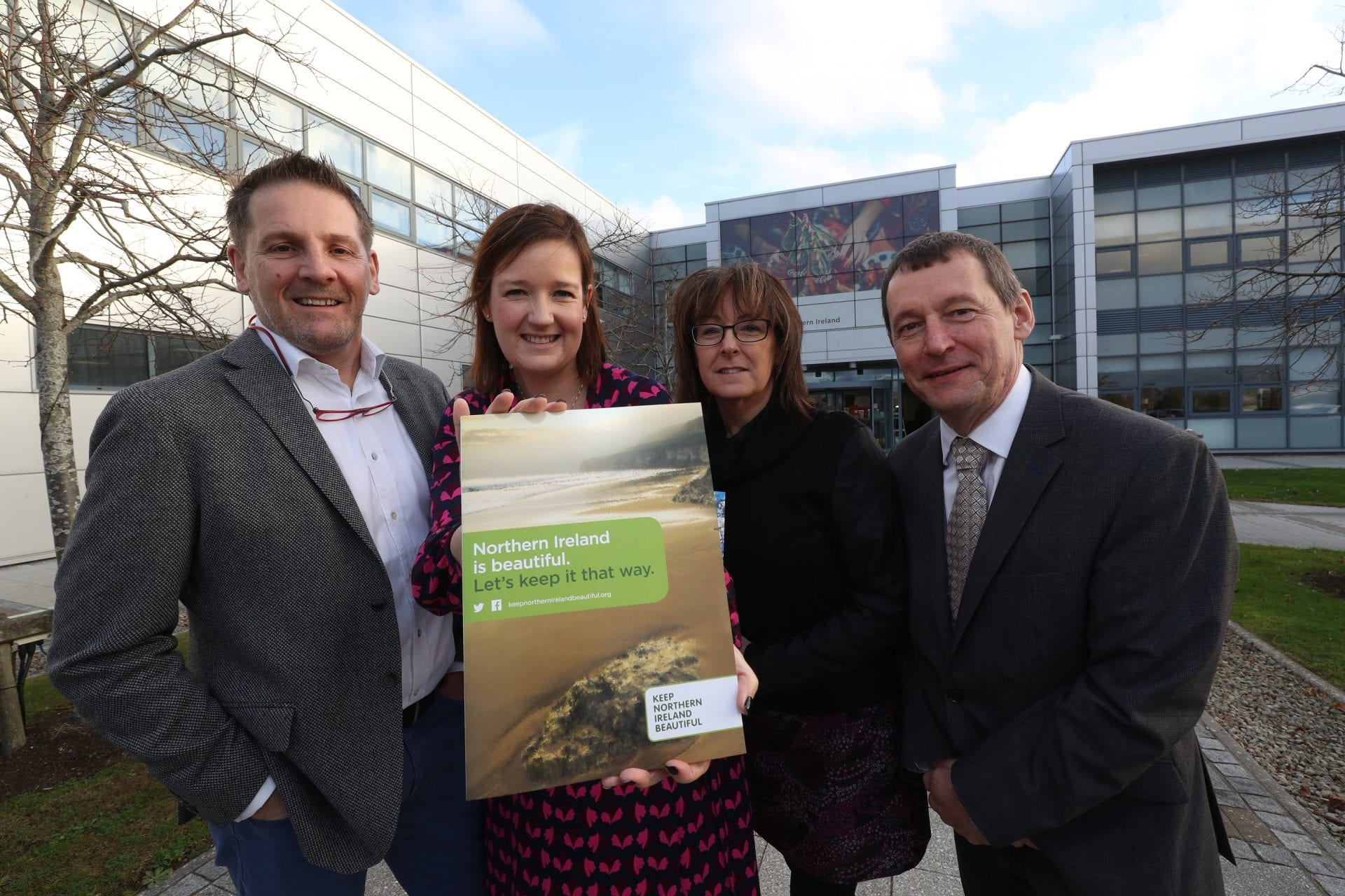 Local businesses, government and NGOs met at a seminar hosted by local charity Keep Northern Ireland Beautiful in collaboration with Coca-Cola