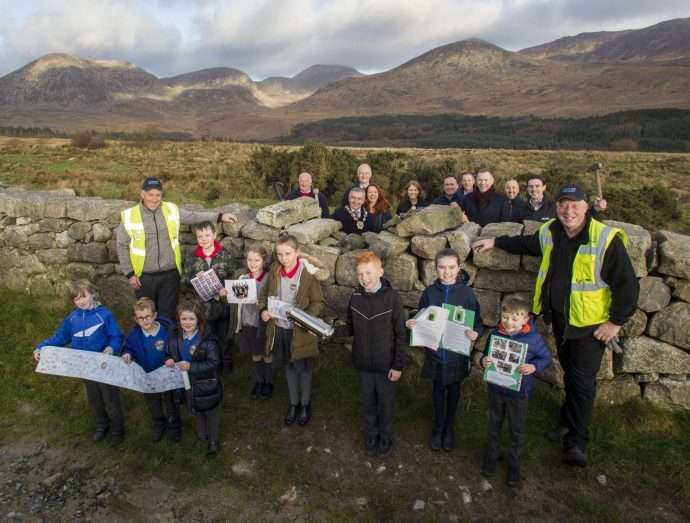 Mourne Wall restored ahead of schedule!