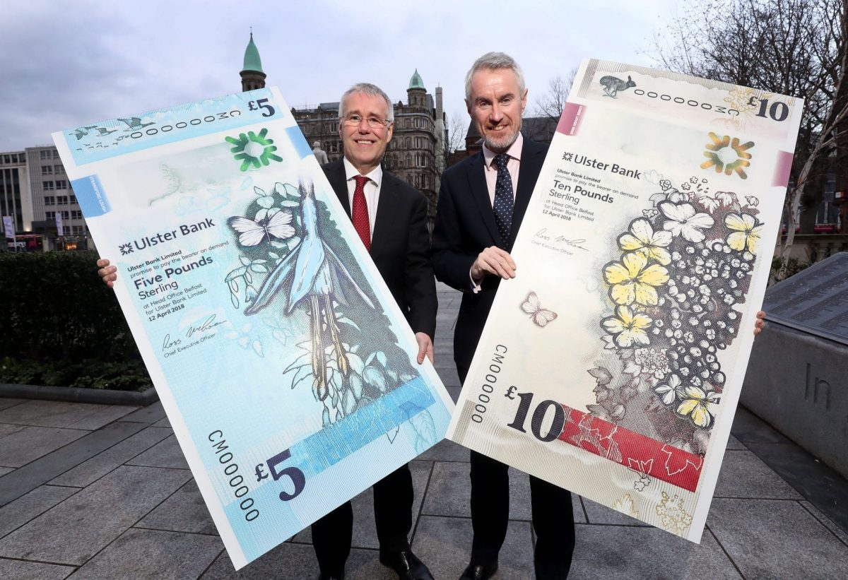 Ulster Bank to introduce new Bank Notes next week