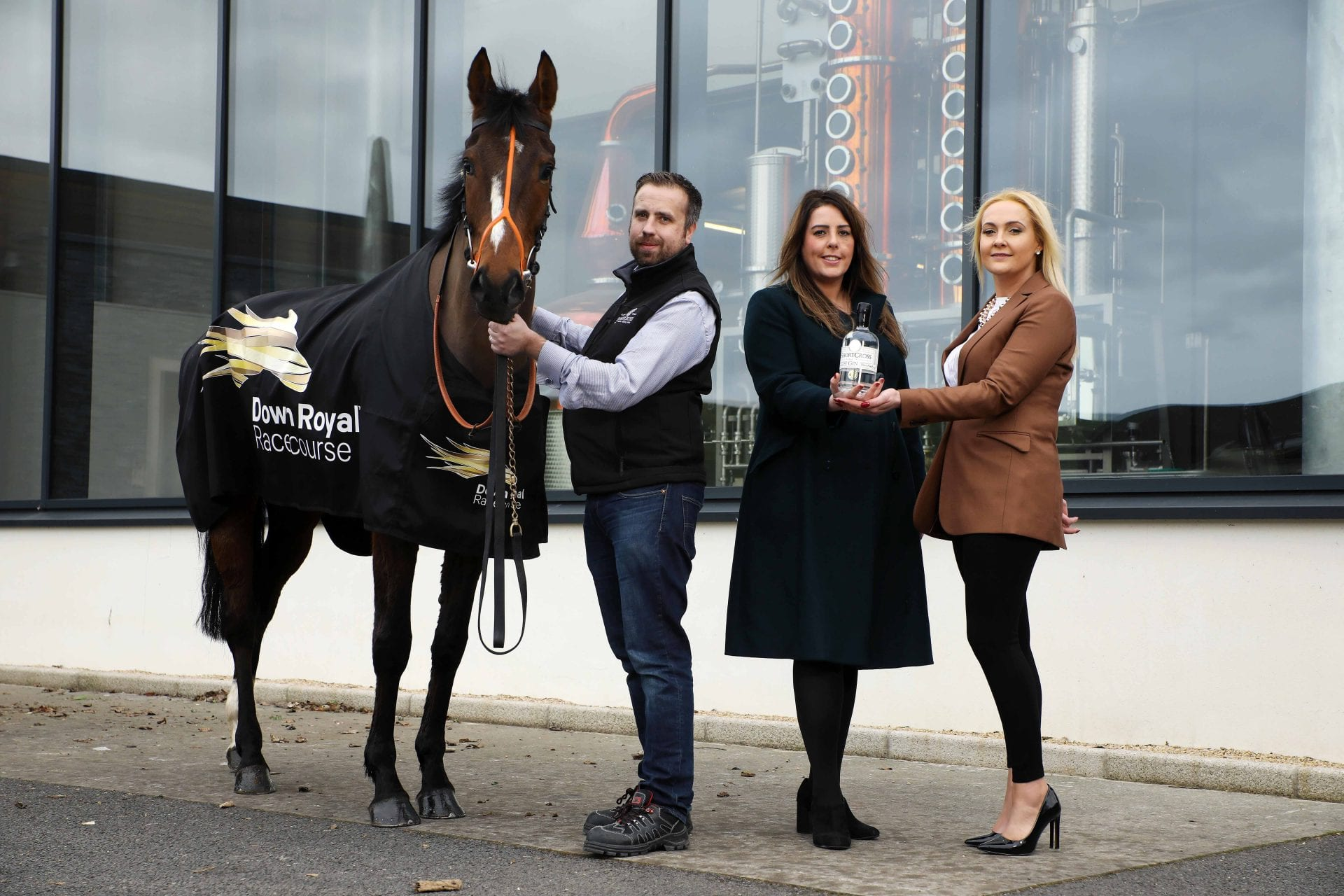 Down Royal Racecourse has secured a major three-year sponsorship deal with Northern Ireland's leading craft spirit, Shortcross Gin.