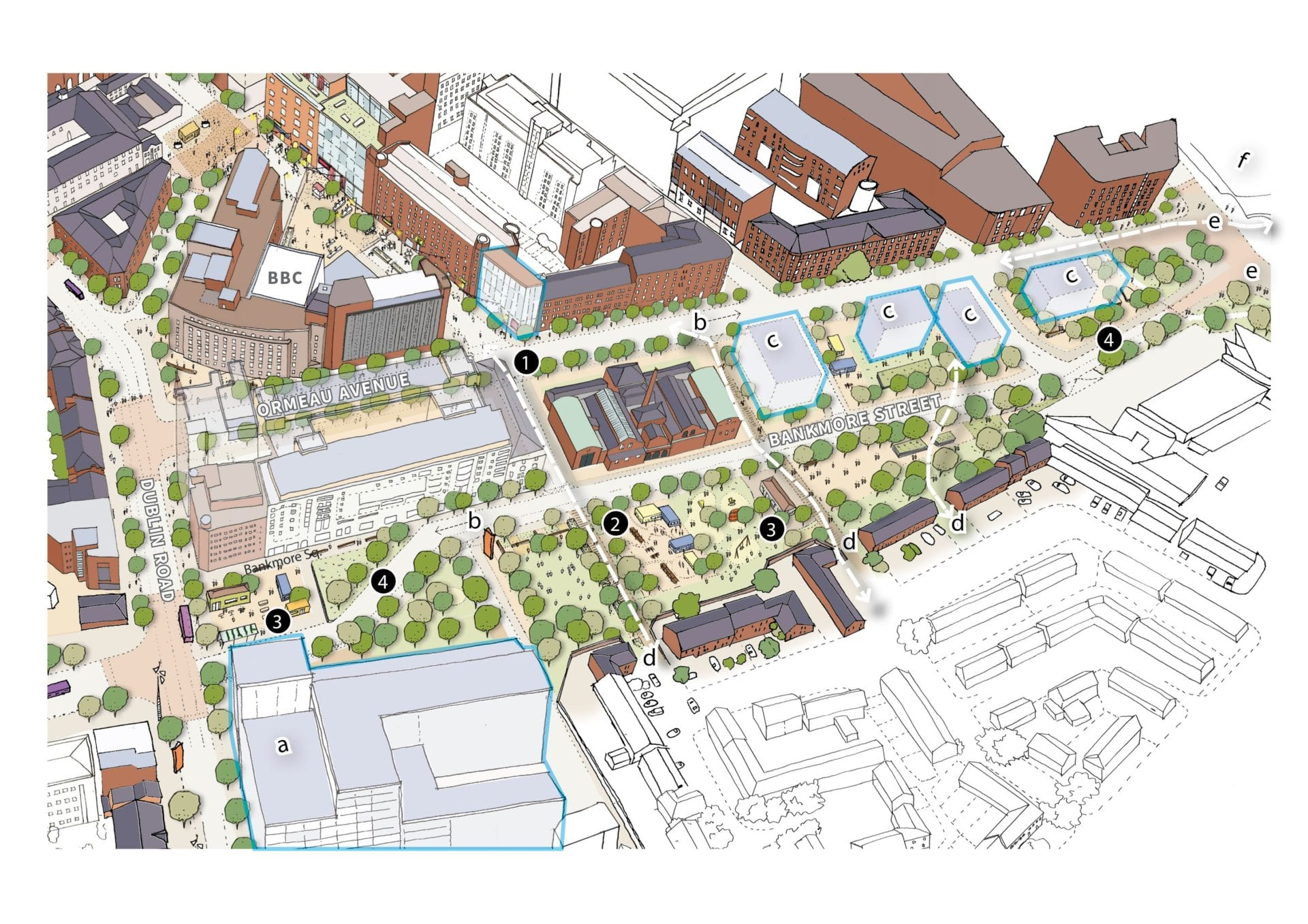 Linen Quarter Business Improvement District BID