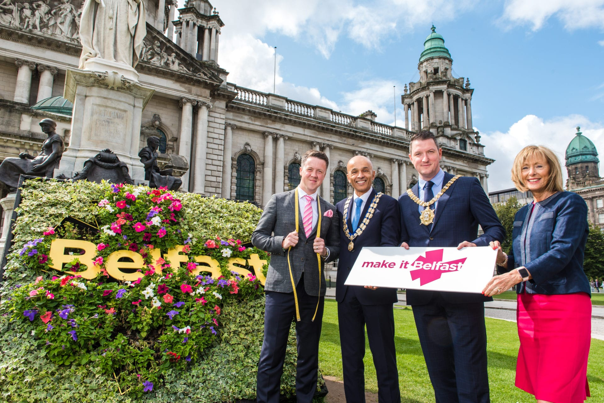 Belfast City Council has joined with Belfast Chamber, Belfast One and Visit Belfast to announce a range of projects