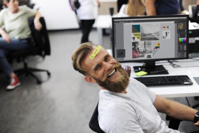 happy employees.