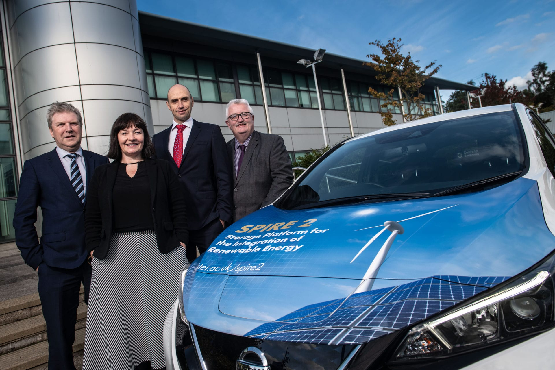 electric vehicle Ulster University