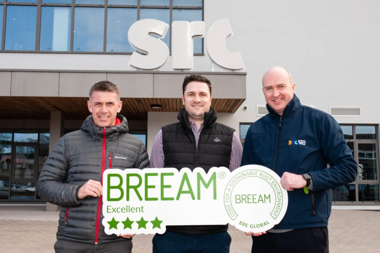 BREEAM 'excellent' rating