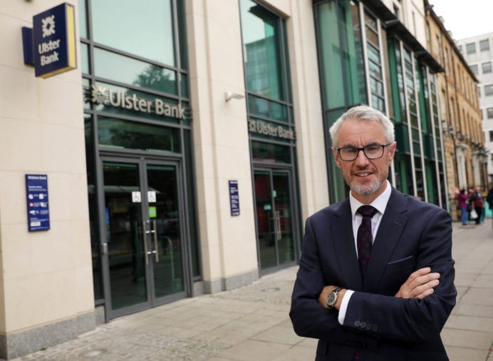 Ulster Bank NI has taken the decision to freeze overdraft interest at current rates for personal customers for at least three months,