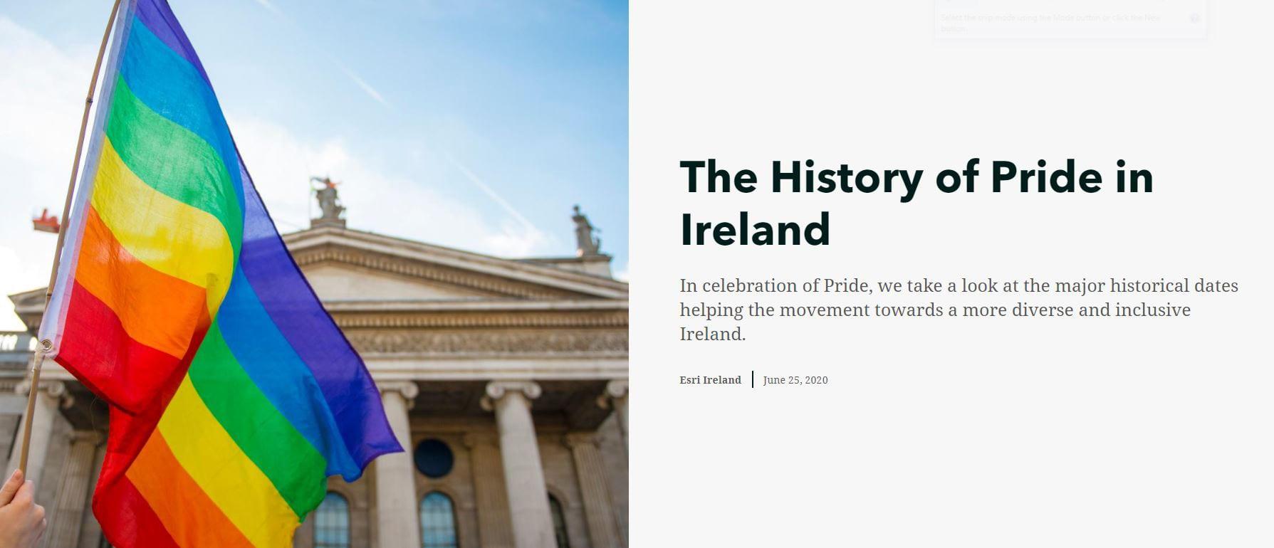 History of Pride in Ireland