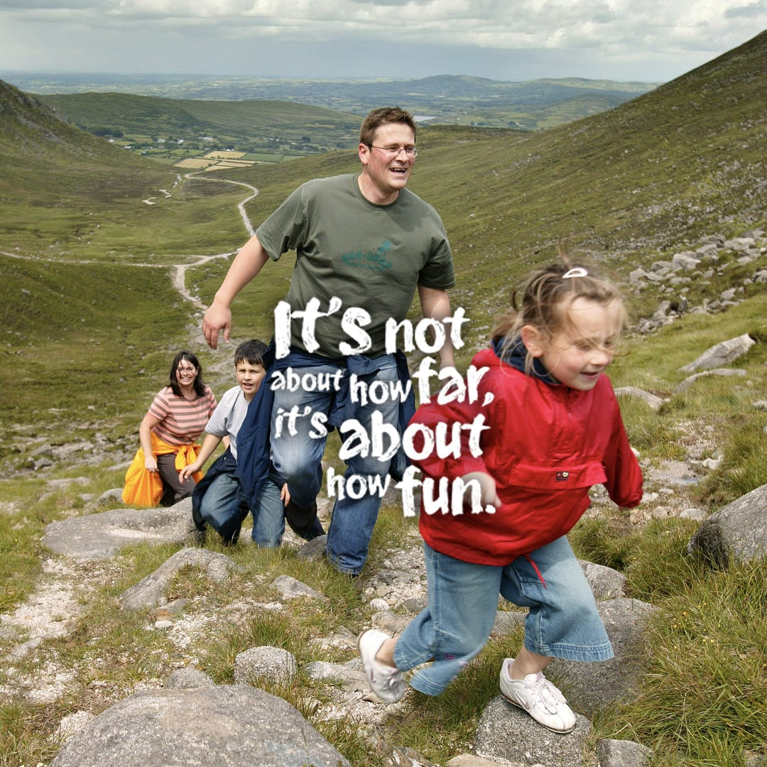 Northern Ireland's giant staycation spirit