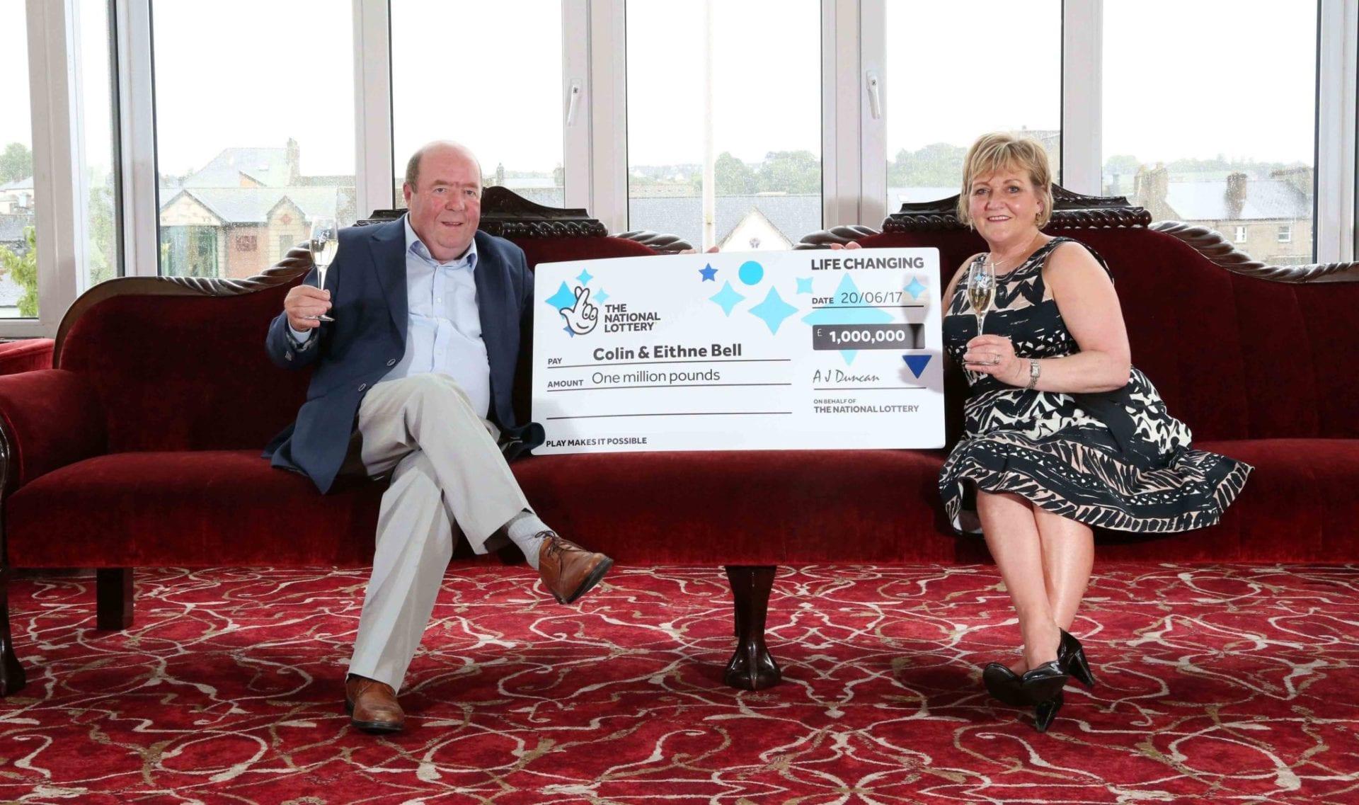 Northern Ireland's National Lottery millionaires