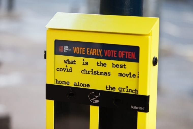 ballot bin