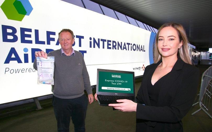 Belfast International Airport tests