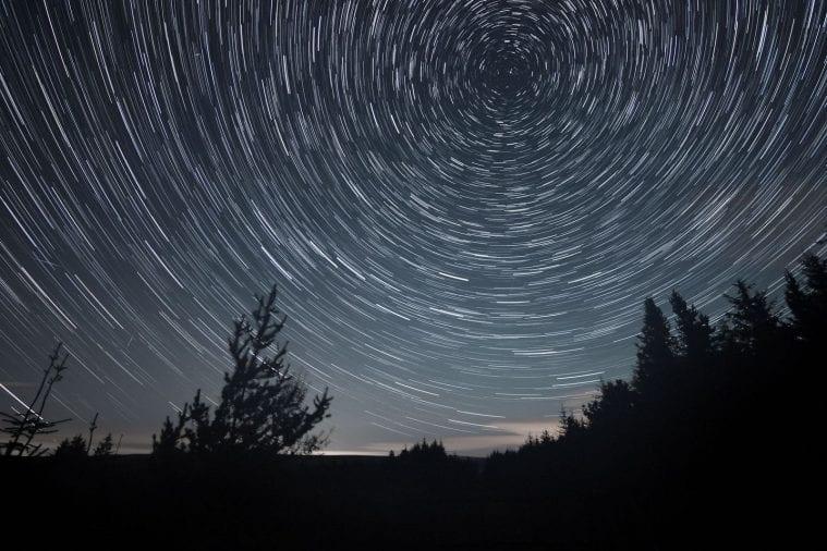 night sky during lockdown