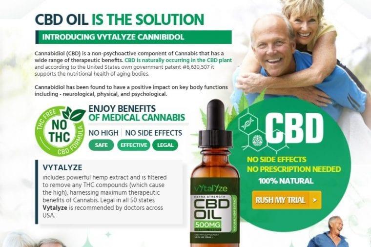 Vytalyze CBD Oil