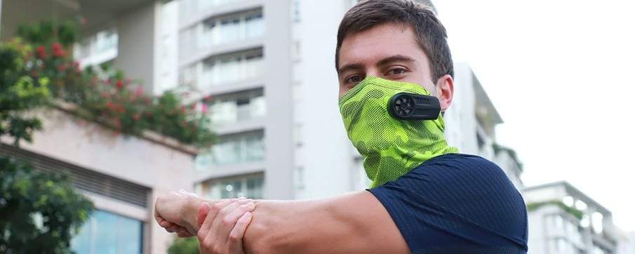 face mask fan