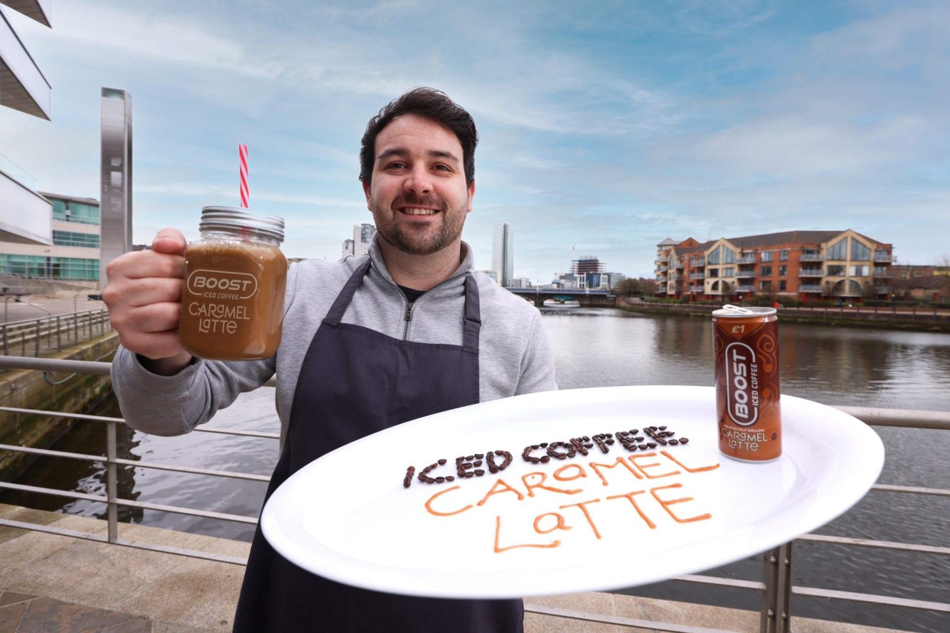 Iced CoffeeCaramel Latte