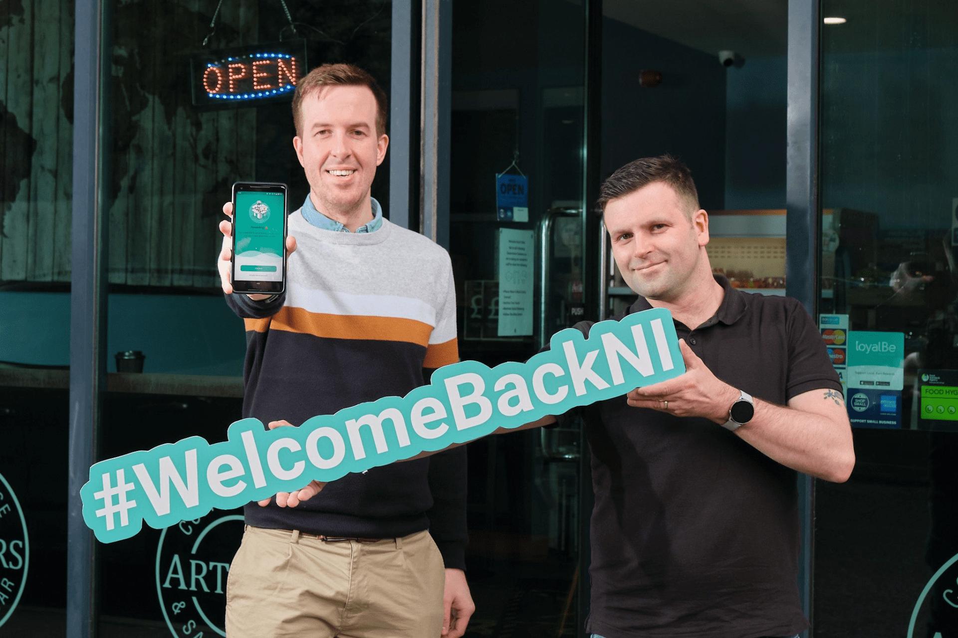 #WelcomeBackNI