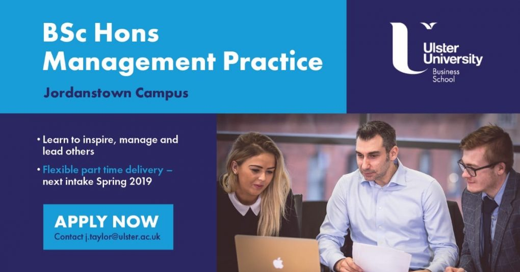 Final advert BSc Hons Managment Practice